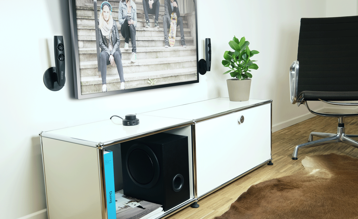 stax bt 2 1 stereo lautsprecher system wavemaster a new definition of sound. Black Bedroom Furniture Sets. Home Design Ideas